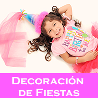 Decoracíon de fiestas
