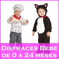 Disfraces para Bebés de 0 a 24 meses
